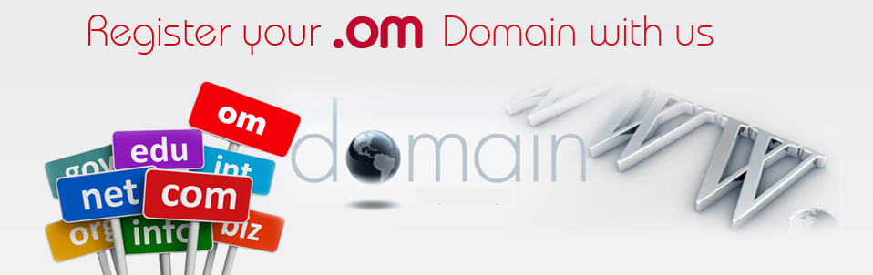 Register Your .om Domain with us